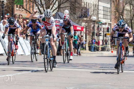 Old Cap Crit Sprint Finish Photo courtesy of Justin Torner